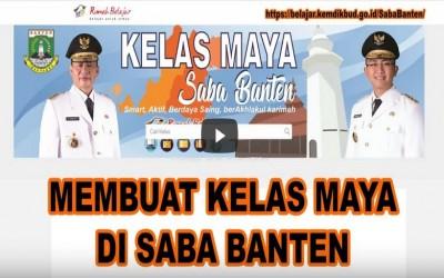 TUTORIAL CARA MEMBUKA KELAS DI SABA BANTEN | RUMAH BELAJAR